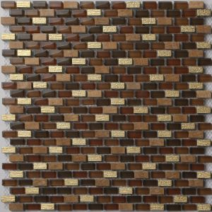 Hot Selling Glass Mosaic Tile in Stock (TB1222) pictures & photos