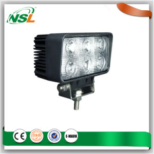 18W LED Work Light Flood Spot Beam for Car Offroad LED Driving Light pictures & photos