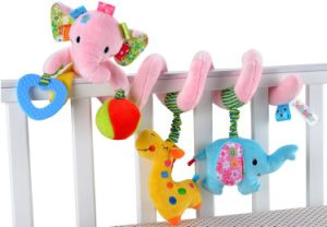 Baby Rotating Music Mobile Padding Attractive Bed 07445 pictures & photos