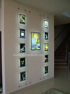 Acrylic Photo Holder LED Crystal Light Box pictures & photos