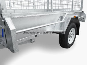 Australia Standard Galvanized Box Trailer pictures & photos