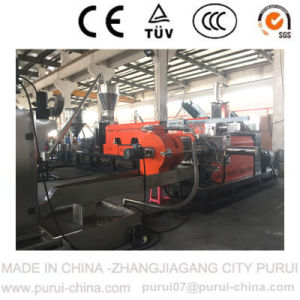 Two-Stage Waste Plastic Recycling Pelletizing Machine for HDPE Scraps pictures & photos