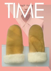 Good Quality Wholesale Sheepskin Glove Mittens pictures & photos