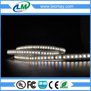 SMD2835 120LEDs/m HV LED strips (IP67 Waterproof) pictures & photos