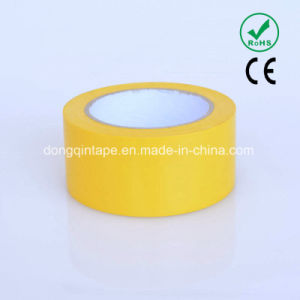 Yellow PVC Pipe Tape with Strong Adhesive (50*20Y)