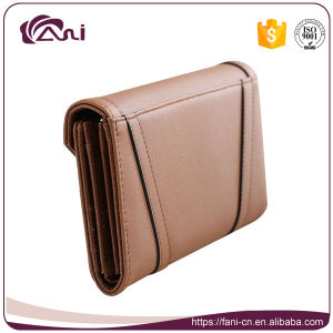 Envelope PU Leather Lady Purse, Card Holder Wallet to Keep Money Cards pictures & photos
