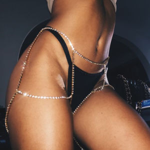 Fashion Designer Glittering Diamond Full Rhinestone Leg Chain Body Jewelry pictures & photos