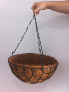 Chinese Hot Sale High Quantity Creative Modern Metal Flower Hanging Basket (manufacturer) pictures & photos