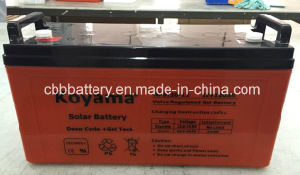 Koyama High Quality 12V120ah Solar Power Battery pictures & photos