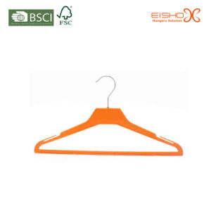 Non Slip Fashion Velvet Hanger for Jacket pictures & photos