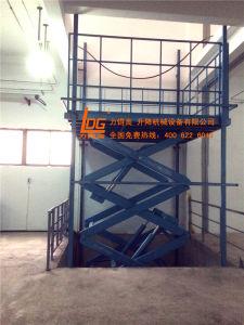 Sationary Hyfraulic Scissor Goods Elevator (SJG3-9.2) pictures & photos