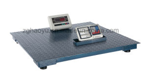 China Multifunctional Steel Electronic Floor Scale 3ton with 1m*1m pictures & photos