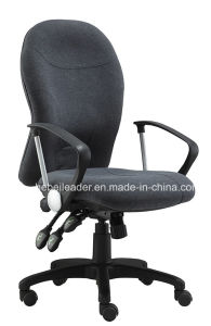 Round Medium Back Computer Heated Office Chair Fabric Functional Office Chair with Armrest (LDG-838A) pictures & photos
