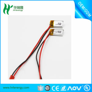 Smallest Lipo Battery 3.7V 60mAh Small Lithium Polymer Battery Lipo Cell for Bluetooth 401120 pictures & photos