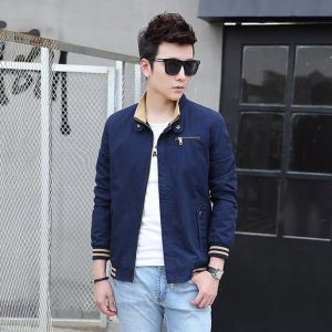 China Factory Men Custom Leisure Coat pictures & photos