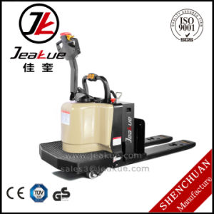 3.0t/3.5t High Quality Standing Electric Pallet Truck pictures & photos