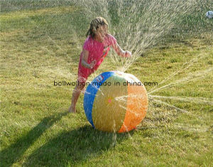Children PVC Inflatable Water Spray Pool Ball Toy for Kids pictures & photos