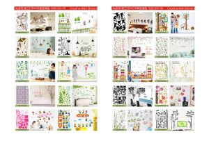 PVC Wall Sticker Wall Paper Design pictures & photos