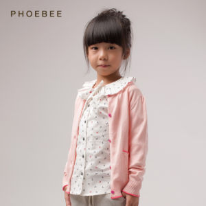 Pink Cotton Children′s Clothes for Girls Wholesale Online pictures & photos