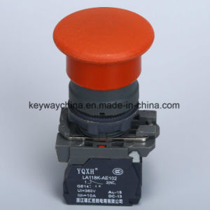 22mm Mushroom Type Push Button Switch with CB/CCC pictures & photos