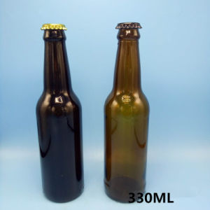 330ml White Beer Bottle. Brown Beer Bottle. Glass Bottles. Beer Mug pictures & photos