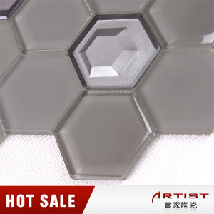 Wholesale China Factory Cheap Exterior Decoration Glass Mosaic Design for Swimming Pool pictures & photos