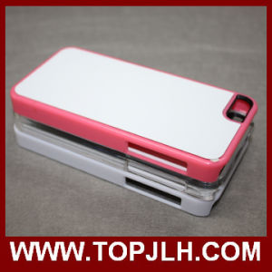 Sublimation Painting PC Case for iPhone 5c with Square Hole pictures & photos