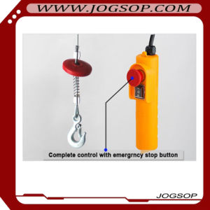 0.1t to 1.2t PA Small Mini Electric Chain Hoist with Trolley pictures & photos