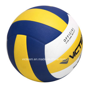 Official Size 5 Durable PU Foam Volleyball Ball pictures & photos