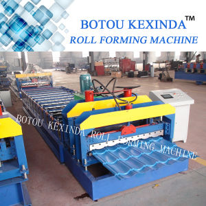 1080 Kxd Produce Roof Tile Forming Machine Glazed Making Machine pictures & photos