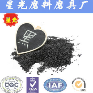 Black Sand Blasting Aluminium Oxide Abrasives Grains Refractory pictures & photos
