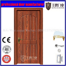 High-Quality PVC Coated MDF Wooden Door pictures & photos