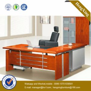 Oak Office Desk Furniture L Shape Wooden Executive Table (NS-ND133) pictures & photos