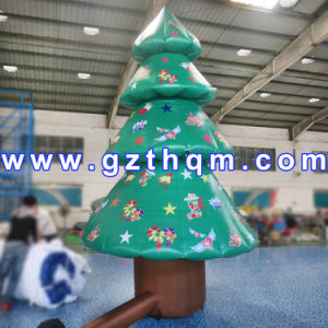 Popular Design Inflatable Christmas Decoration Tree/Hot Small Inflatable Christmas Tree Indoor pictures & photos