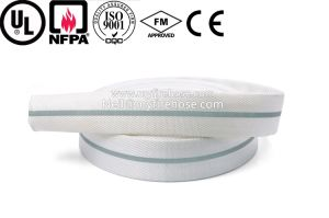 3 Inch Nitrile Rubber Double Jacket High Temperature Fire Hose pictures & photos