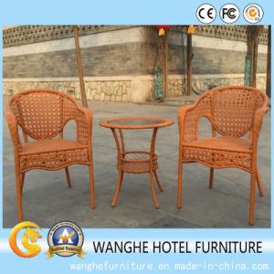 Antique Design Single Rattan Chair Set pictures & photos
