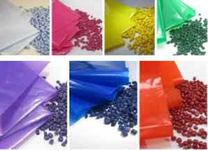 Hot and Pure Color Masterbatch HDPE Granules pictures & photos