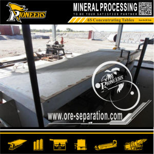 Alluvial Ore Coarse Particle Size Fine Gold Sand Shaking Table
