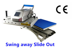 Convenient Draw out Swing Away Heat Press pictures & photos