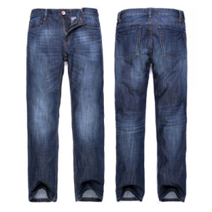 Wholesale Men Basic Jeans Cotton Blue Denim Jeans
