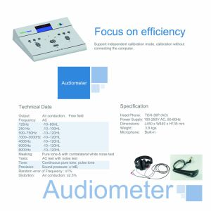 Good Price Audiometer From China Guangzhou pictures & photos