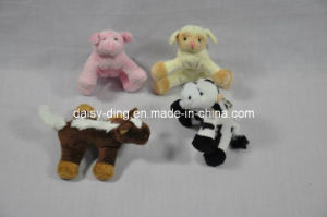Plush Samll Teddy Bear with Key Ring pictures & photos