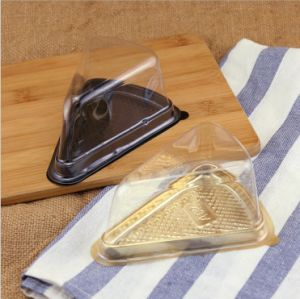 Triangle Transparent Plastic Sandwich Blister Box pictures & photos