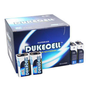 Alkaline 9V Dry Battery 1/S 1.5V Mercury-Free Batteries pictures & photos