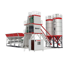60 Cbm/H Ready Mobile Concrete Batching Plant Layout Drawing for Sale Hzs60f pictures & photos