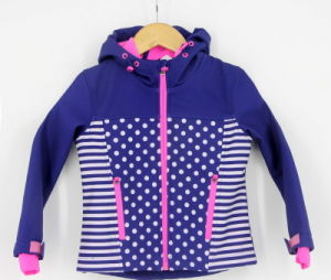 New Design Wholesale Custom Printed Softshel Bondedl Zip Through Sweatshirts Sportswear Jacket