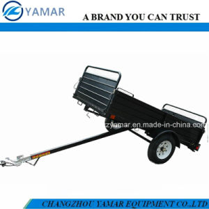 Powder Coated Utility Tilting Trailer pictures & photos