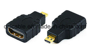 Micro HDMI Male to HDMI Female Adapter pictures & photos