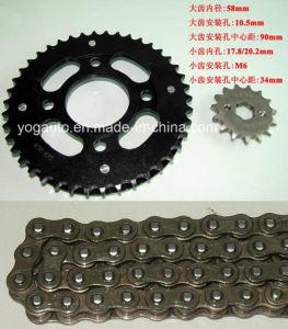 Motorcycle Chain Sprocket Set, Repuestos PARA Motocicletas, Kit De Transmision, for Honda Cg125 Cg150 Wy150 Cbt125 pictures & photos