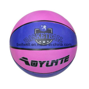 Non-Slip Size 6 Compostie Rubber Basketball pictures & photos